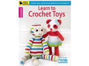 Leisure Arts-Learn To Crochet Toys