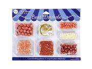 Bead Wardrobe Collection Beads-Peach Assorted