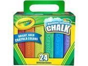 Crayola Sidewalk Chalk 24pc-