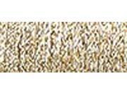 """Kreinik Metallic Braided Ribbon 1/16"""" 5 Meters (5-1/2 Yards)-Gold"""