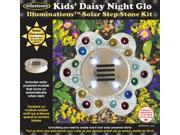 Solar Step Stone Kit-Kids' Daisy Night Glo