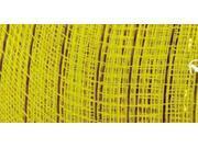 "Mesh Metallic Ribbon 6"" Wide-Yellow"