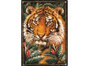 "Latch Hook Kit 27""X40""-Jungle Tiger"