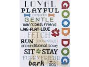 """Good Dog Counted Cross Stitch Kit-9""""X12"""" 14 Count"""
