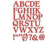 Spellbinders Shapeabilities Font Dies-Font 1&#59; Uppercase