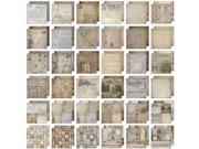 """Idea-Ology Paper Stash Paper Pad 12""""X12"""" 36/Sheets-French Industrial"""