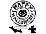 """Technique Tuesday Clear Stamps 2""""X2.5""""-Halloween Seal"""