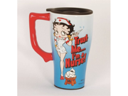 Nurse Betty Boop Coffee Latte Tea Travel Mug