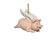 When Pigs Fly Flying Winged Pig Ceiling Fan Light Pull