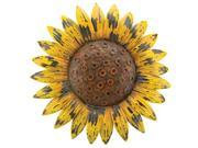Sunflower Giant Rustic Yellow Flower 18 Inch Metal Wall Decor Regal Art and Gift