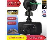 "DM6000 2.7"" TFT 1080P 140° Car DVR Vehicle Camera Driving Recorder G-sensor Motion Detection IR Night Vision"