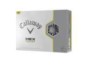 Callaway Hex Chrome Yellow Golf Balls