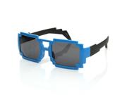 Colorful Square Aviator Digital CPU 16-Bit Graphics Gamer Geek Pixel Sunglasses