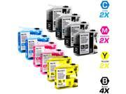 10 Brother MFC-J870DW Ink Cartridges Combo Pack (compatible)