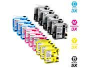 14 Brother MFC-J870DW Ink Cartridges Combo Pack (compatible)
