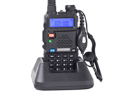 BaoFeng UV-5R 136-174/400-480 MHz Dual-Band DTMF CTCSS DCS FM Ham Two Way Radio Handheld Transceiver Walkie Talkie with Battery Antenna Charger Earpiece and Hand Strap