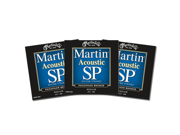 Martin SP MSP4200 Acoustic Guitar Strings Medium 3 Packs