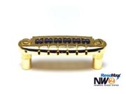 Graph Tech Resomax NW2 Harmonic Wraparound Bridge - String Saver Saddles - Gold