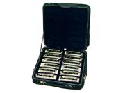 Johnson Blues King Harmonica Set - All 12 Keys - Case Included - Model BK520