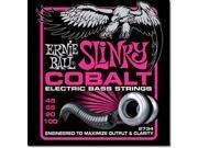 Ernie Ball Bass Guitar Strings - Super Slinky - Cobalt - 4 string Bass - 45-100