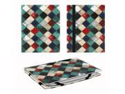 "JAVOedge Quilt Print 6"" Universal eReader Book Case for the Nook Touch, Glowlight, Kobo Glo, Touch, Kindle (Blue)"