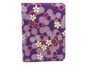JAVOedge Cherry Blossom Book Case for Amazon Kindle Touch (Twilight Purple) Wi-Fi/3G