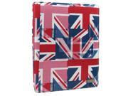 JAVOedge UK Flag 360 Rotating Smart Cover Case with Stand for Apple iPad 2