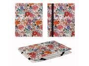 "JAVOedge Summer Floral 6"" Universal eReader Book Case for the Nook Touch, Glowlight, Kobo Glo, Touch, Kindle (White)"