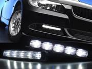 High Power 5 LED DRL Daytime Running Light Kit For MAZDA