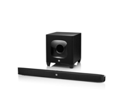 Cinema SB400 Bluetooth Enabled Sound Bar with Wireless Subwoofer (Black)