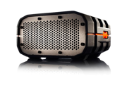 Braven BRV-1 Portable Bluetooth Speaker - Black/Orange/Gray