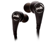 Polk Audio UltraFocus 6000i High Performance In-Ear Canal Active Noise Cancelling Headphones for iOS devices (Black)