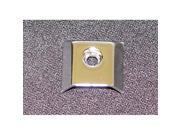 Omix-ada This replacement chrome interior door pull end cap from Omix-ADA fits 87-95 Jeep YJ Wranglers. Sold individually. Two required per door pull.  11802.01