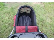 Red Ultimate 4 In 1 Pet Stroller/Carrier/Car Seat