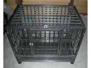 "42"" Heavy Duty Dog Pet Cat Bird Crate Cage Kennel HB"