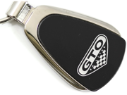 Pontiac GTO Black Teardrop Key Fob Authentic Logo Key Chain Key Ring Keychain Lanyard KCK.GTO