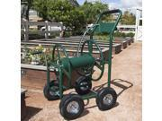 Water Hose Reel Cart 300 FT Outdoor Garden Heavy Duty Yard Water Planting New