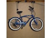 Case of 2 Bike Lifts Hanger Hoist Ceiling Garage Bicycle Puller Mount Storage