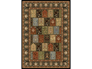 Home Dynamix Area Rugs: Royalty Rug: 41200: Black 2'x7'2