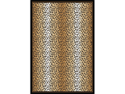 "Home Dynamix Area: Zone Rug: 7117: Leopard Rug 5' 3""x7' 5"