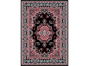 "Home Dynamix Area Rugs: Premium Rug: 7069: Black 3' 7""x5' 3"" Rectangle"