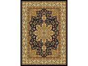 "Home Dynamix Area Rugs: Royalty Rug: 8083: Black 3'6""x5'2"