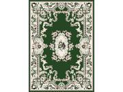 "Home Dynamix Area Rugs: Premium Rug: 7083: Hunter Green 5' 3""x7' 5"" Rectangle"