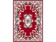 "Home Dynamix Area Rugs: Premium Rug: 7083: Claret Red 1'10""x7'3"" Runner"