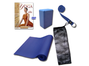Total Yoga DVD Kit 4MM Mat