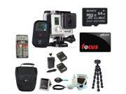 GoPro HERO3+ Black Edition Camera Bundle with 64GB Deluxe Accessory Kit