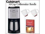 Cuisinart DGB-650BC Grind-and-Brew Thermal 10-cup Automatic Coffeemaker with Kit