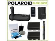 Polaroid PLGR1860D Performance Battery Grip for Canon 60D SLR Camera Kit