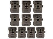 10-Pack Moultrie Game Spy M-550 Mini Cam Low Glow Infrared Game Camera