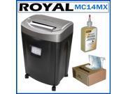 Royal MC14MX 14-sheet Microcut Shredder Kit